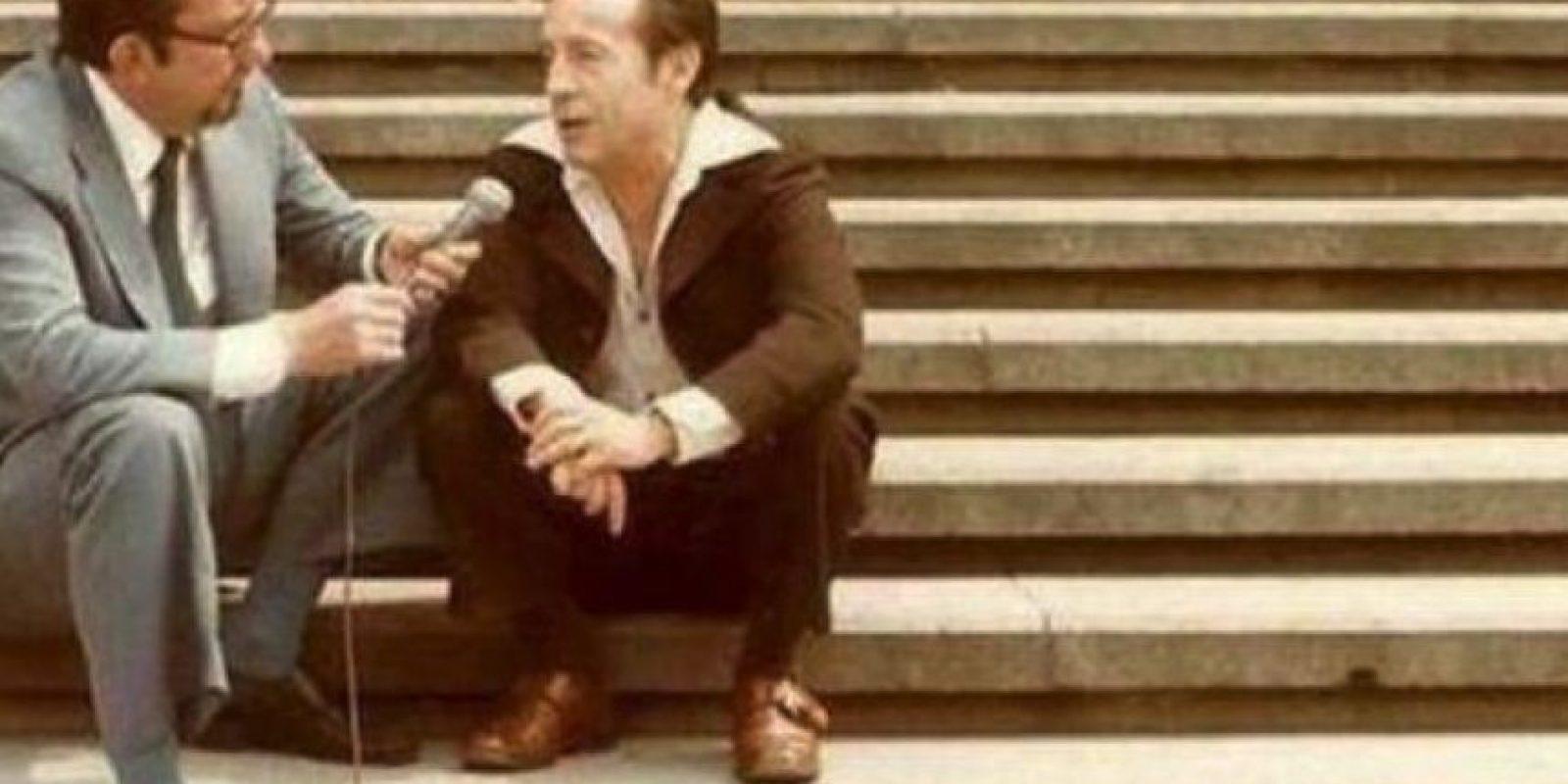 Empezó escribiendo comerciales para radio. Foto:Vía twitter.com/chespiritorgb