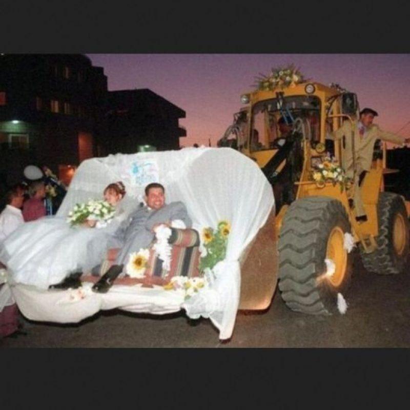 Un transporte inusual Foto:Imgur