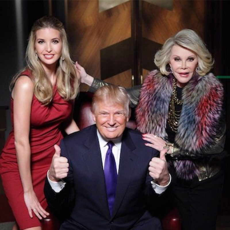 Joan Rivers Foto: Instagram.com/RealDonaldTrump
