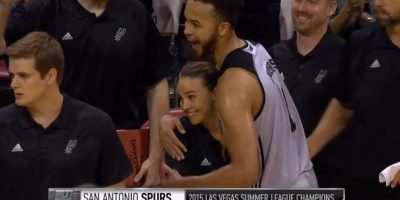 Jugó basquetbol en la WNBA, la liga de baloncesto profesional para mujeres en Estados Unidos. Foto:Vía facebook.com/Spurs
