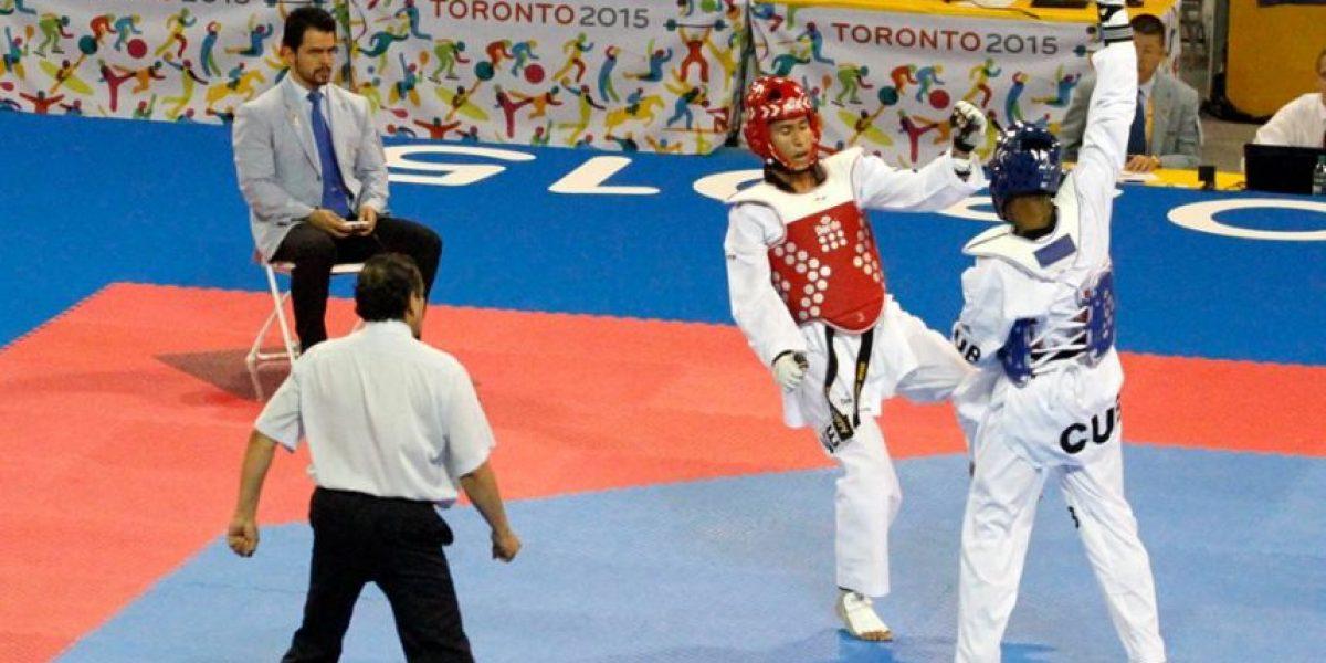 #Toronto2015 el guatemalteco que hace cumplir las reglas en el taekuondo