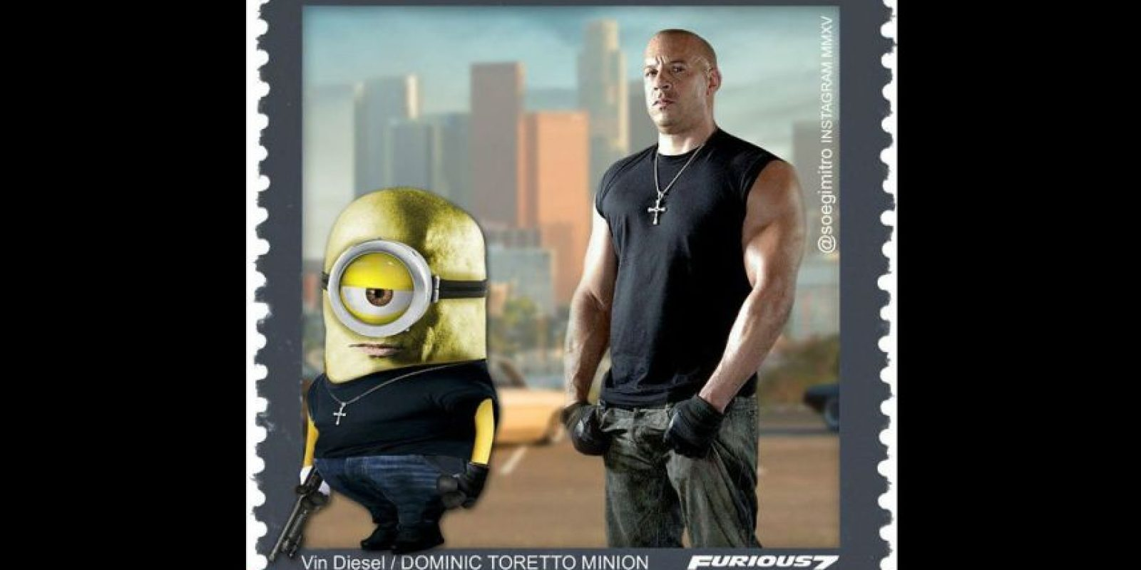 """Dominic Toretto"" Foto:vía instagram.com/soegimitro"