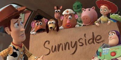 """Los campos de concentración son representados con el jardín de niños """"Sunny Side"""" Foto:vía facebook.com/PixarToyStory"""