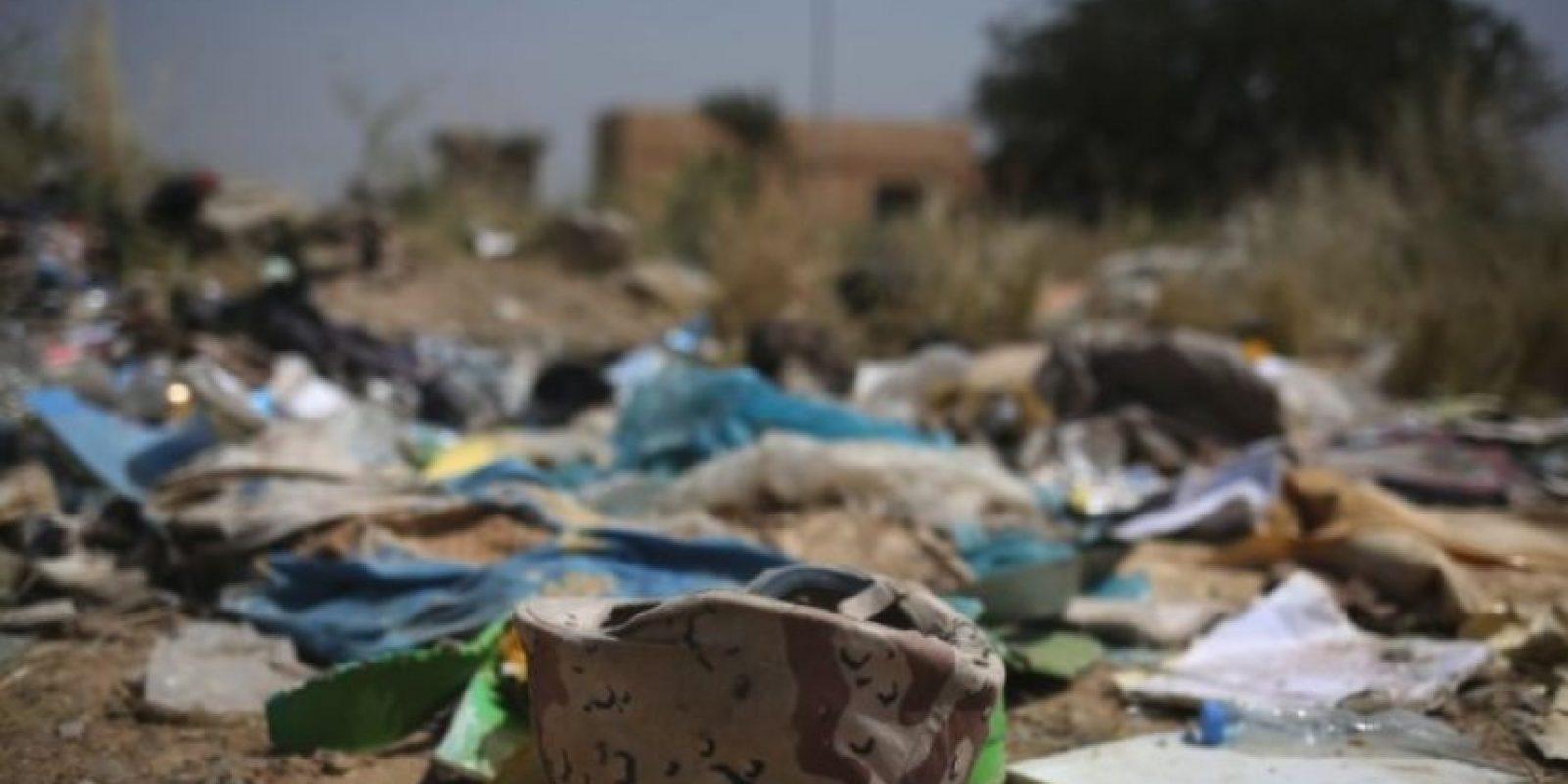 Miles de yizadies fueron asesinados y los sobrevivientes tuvieron que escapar al monte Sinjar Foto:Getty Images