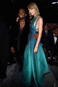 """La frase """"Voy a dejarte terminar"""" fue pronunciada por su esposo Kanye West en el año 2009, cuando este interrumpió el agradecimiento de Taylor en los MTV VMA's Foto:Getty Images"""