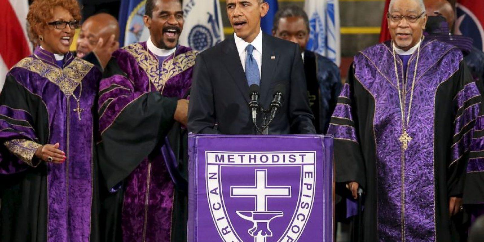 Su media hermana Auma Obama cree que es increíble. Foto:Getty Images