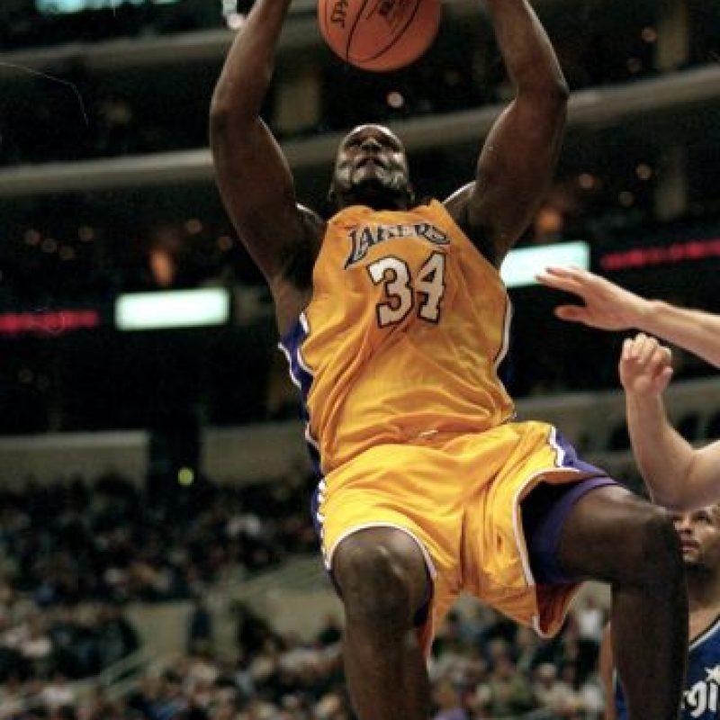 Shaquille O'Neal es un exbasquetbolista estadounidense que militó en Los Ángeles Lakers. Foto:Getty Images