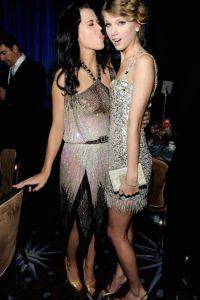 """La rivalidad entre Katy Perry y Taylor nació cuando Katy le """"robó"""" algunos bailarines a Swift. Foto:Getty Images"""