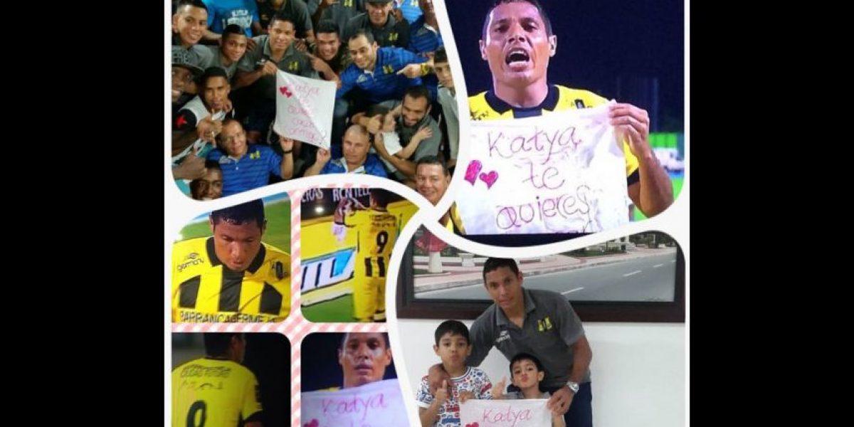 ¡Romántico! Jugador colombiano anota y le propone matrimonio a su novia