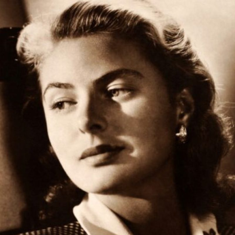 Por lo tanto, nieta de Ingrid Bergman. Foto:vía Getty Images