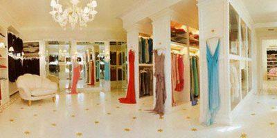Su vestidor mide unos 12 mil metros cuadrados Foto:Vía instagram.com/mariahcarey/