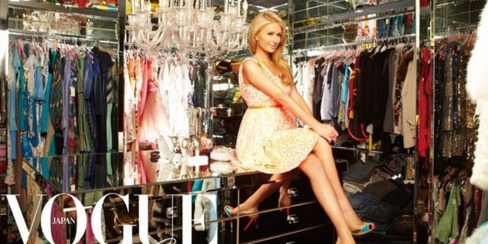 Paris Hilton Foto: Vogue