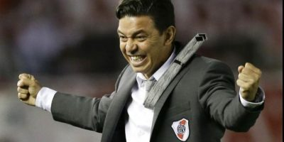 Marcelo Gallardo ganó la copa en 1996 Foto: Getty Images