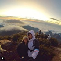 Ellos son brasileños. Se llaman Leonardo Pereira y Victoria Náder. Foto:vía Instagram