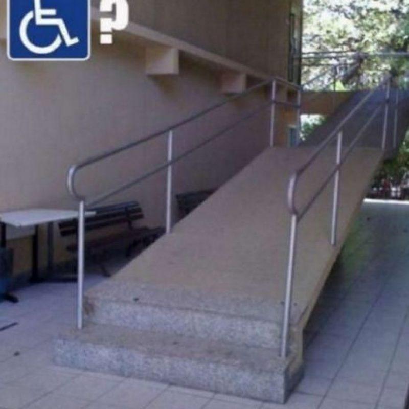 ¿Y las escaleras como para qué? Foto:Pinterest