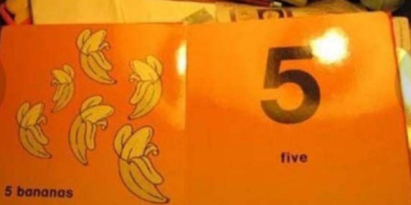 ¿Cinco o seis? Foto:Imgur