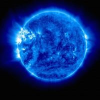16 de julio: Fotografía ultravioleta del sol, la primera recibida en más de tres meses Foto:Instagram.com/NASA