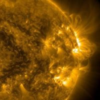 19 de julio: Una fotografía de la actividad solar Foto:Instagram.com/NASA