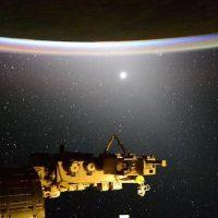 La vista desde la Estación Espacial Internacional Foto:Instagram.com/NASA