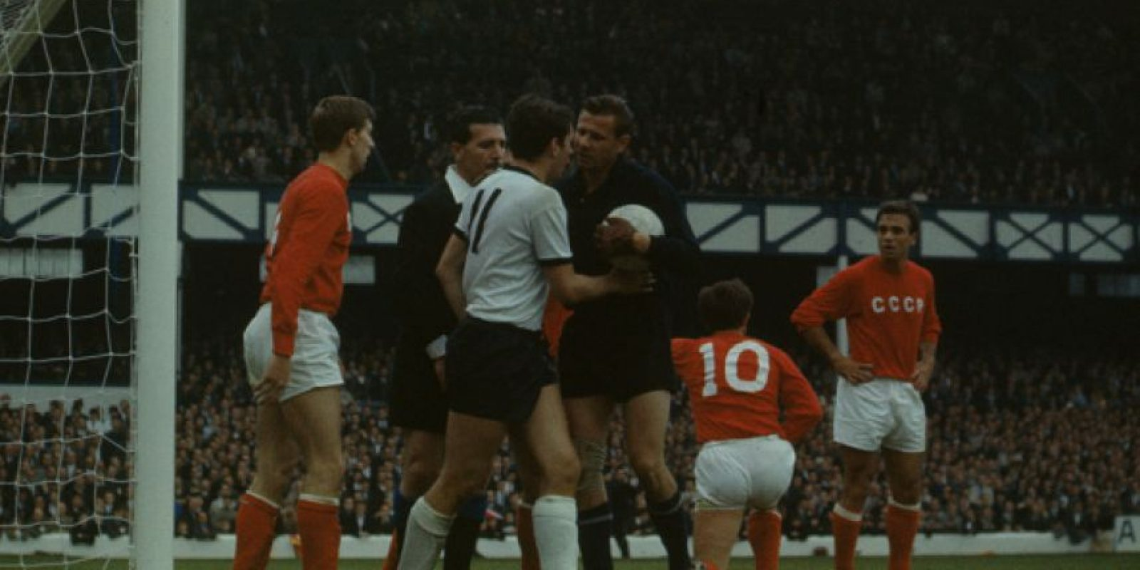 Final del Mundial Inglaterra 1966. Foto: Getty Images