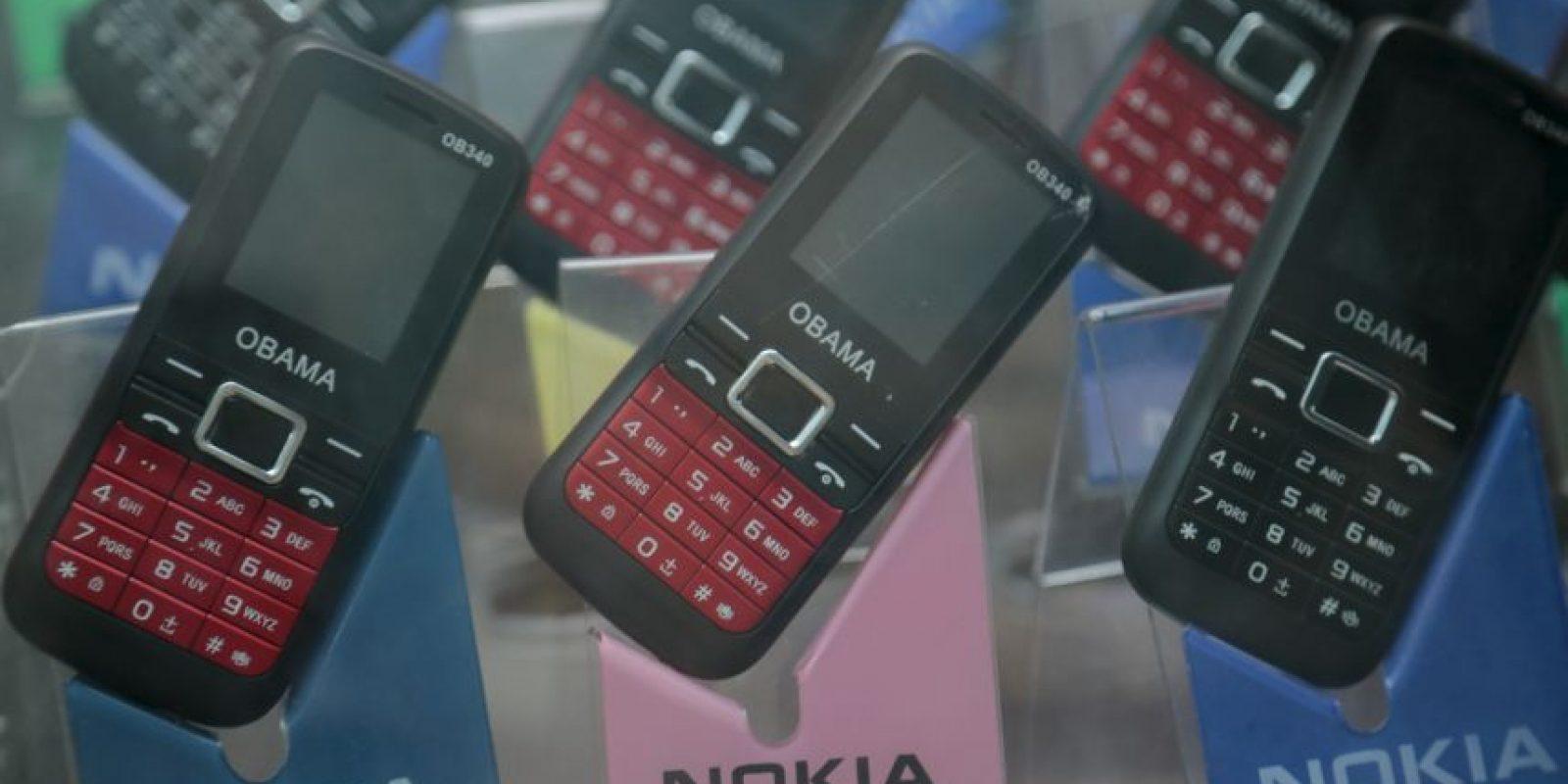 """Los celulares """"Obama"""" Foto:AP"""