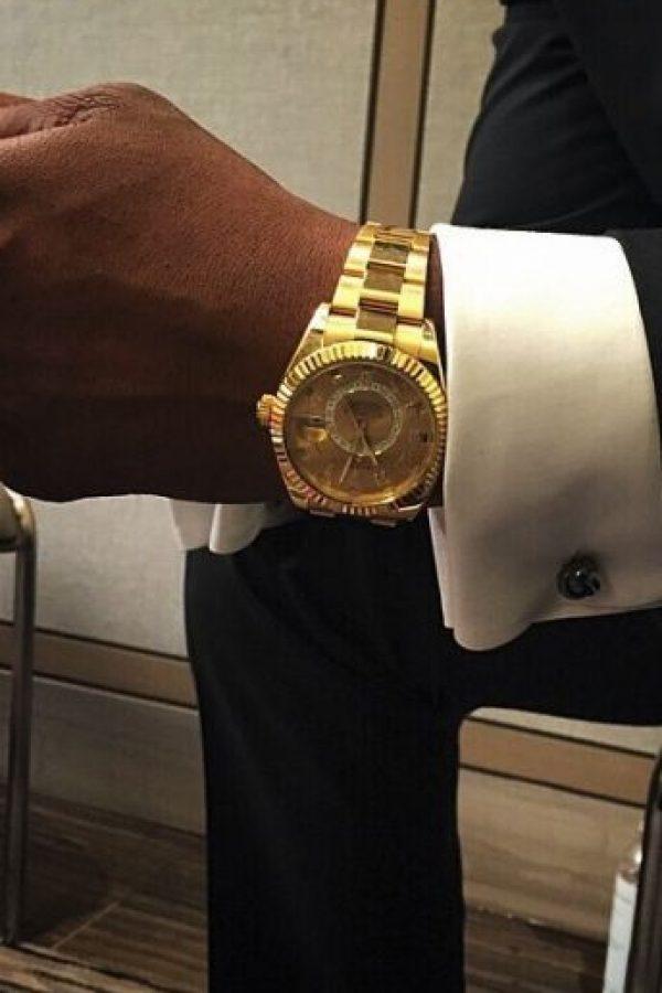 """El rapero anunció: """"Me las prestaron en la joyería"""". Foto:vía instagram.com/50cent"""