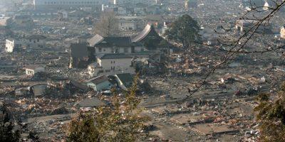 En la tarde del día 12 se produjo una explosión que derribó parte del edificio Foto:Getty Images