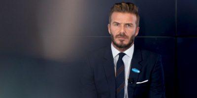 David Beckham dejó el fútbol en 2013, pero continúa siendo un ídolo para millones de aficionados. Foto:Getty Images