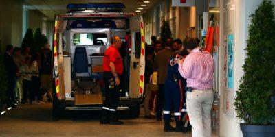 Junto a su cómplice el maleante logró llegar a un hospital donde confirmaron la pérdida de su ojo. Foto:Getty Images