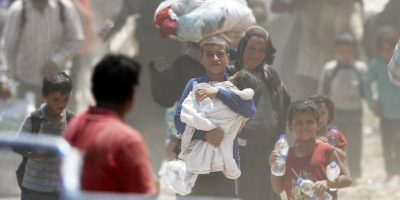En Líbano hay un millón 172 mil 753 refugiados. Foto:Getty Images