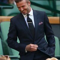 Beckham ha sido la imagen de varias marcas de moda, e incluso tiene su línea de ropa en coordinación con H&M. Foto:Getty Images