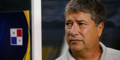 """El DT de Panamá, Hernán Darió Gómez, indicó que pensó en retirarse del fútbol, por """"el robo"""" del partido Foto:Getty Images"""