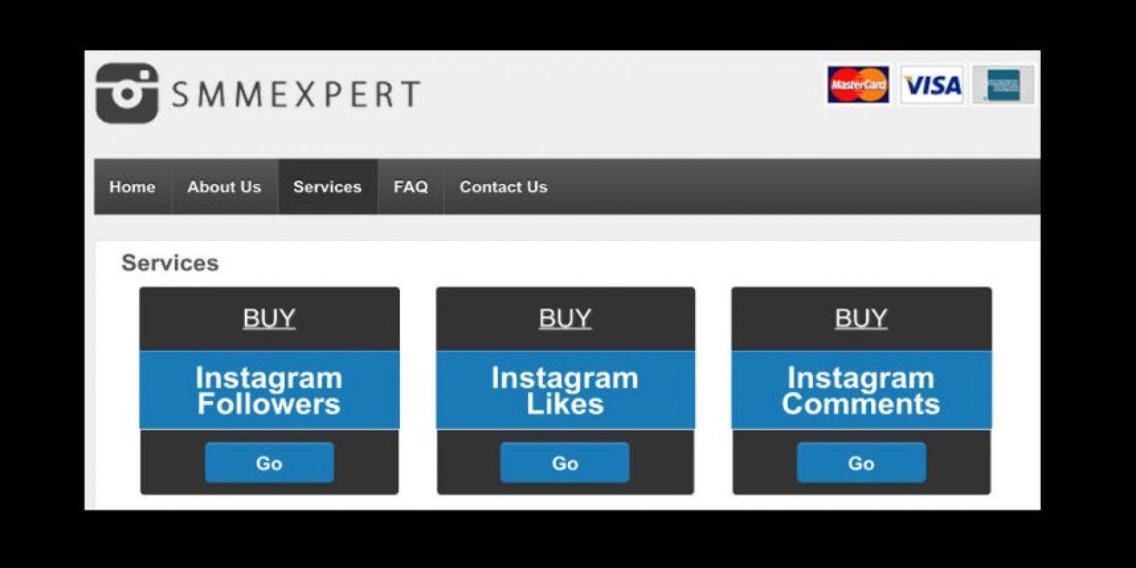 En ella upeden comprar likes, seguidores y comentarios Foto:followgram.net/