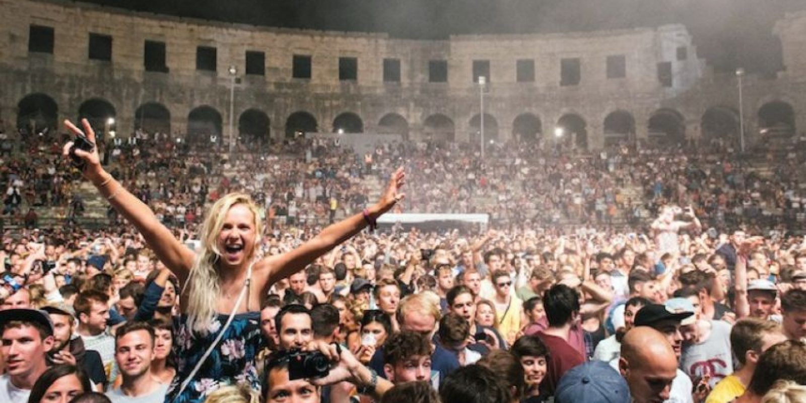 1. Anfiteatro romano en Croacia Foto:Vía Twitter