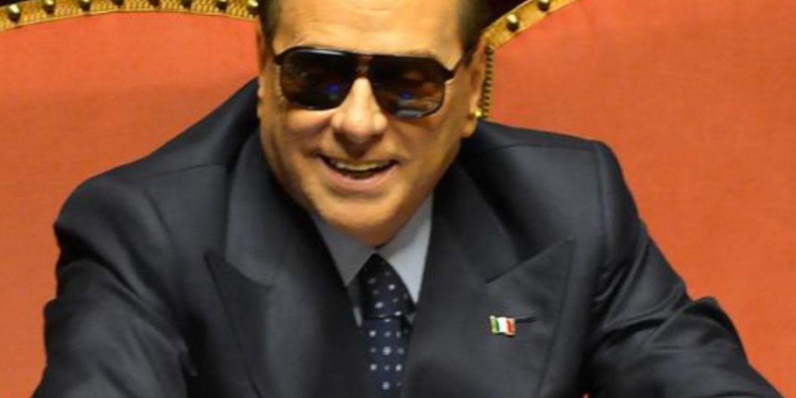 Y Berlusconi. Foto:vía AFP