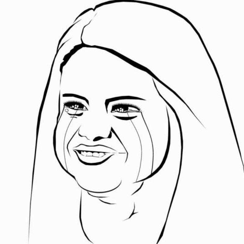1. Selena Gomez es una gran estrella, pero su autoimagen es más bien triste. Foto:vía OkMeme