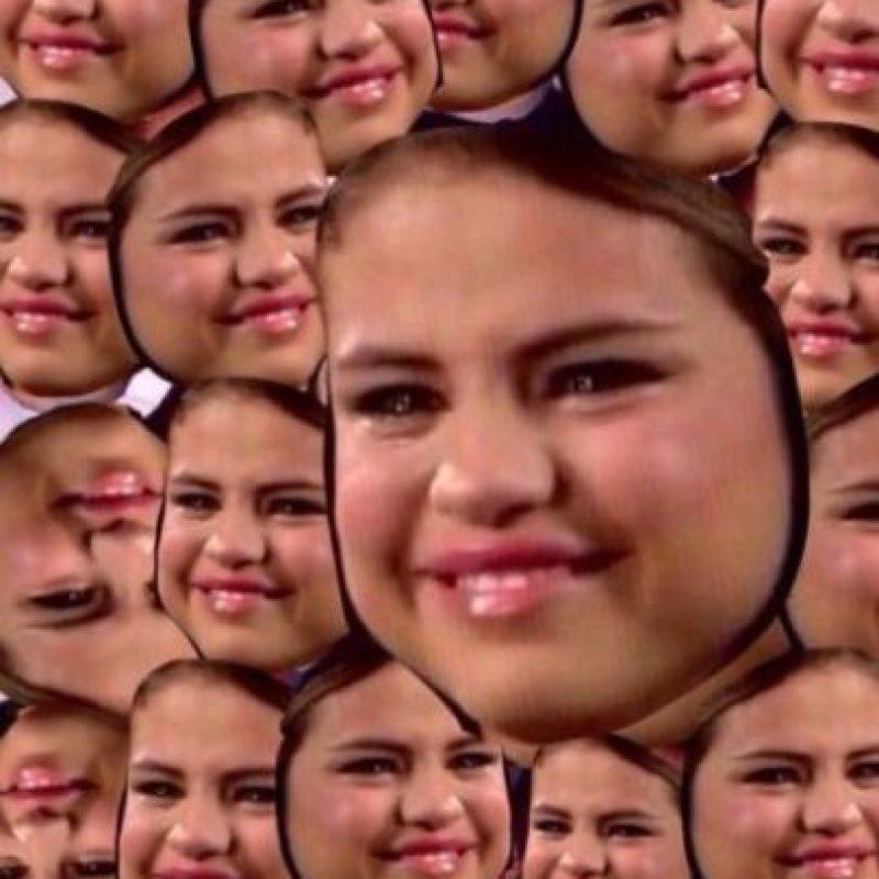 1. Selena Gomez. Miren este rostro Foto:Vía Twitter