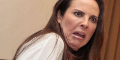11. La actriz mexicana Kate del Castillo Foto:Vía Twitter