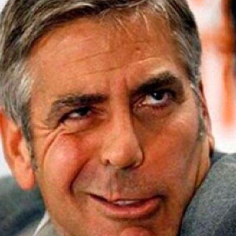 2. George Clooney Foto:Vía Twitter