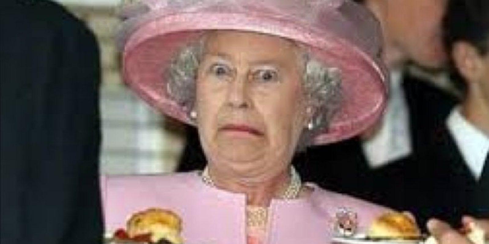 12. La reina Isabel II Foto:Vía Twitter