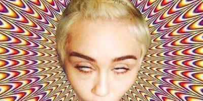 7. La cantante Miley Cyrus Foto:Vía Twitter