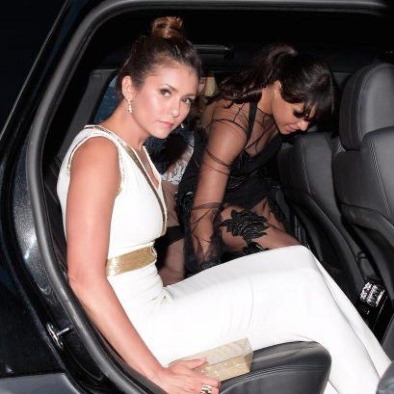 A su llegada al puerto St. Tropez para la gala benéfica de Leonardo Dicaprio, la actriz no lucía muy contenta. Foto:Grosby Group