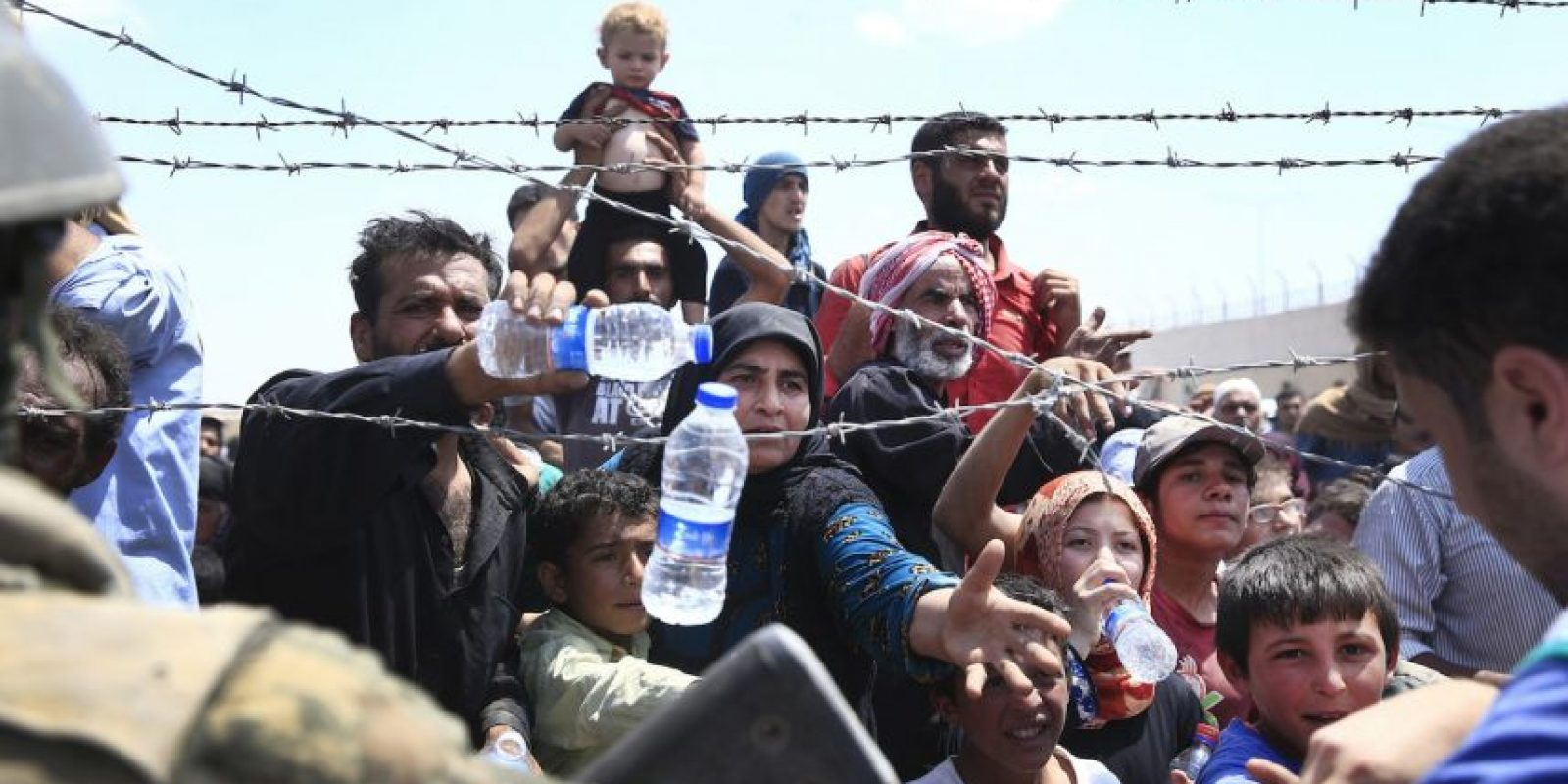 Miles de refugiados sirios han llegado a Turquía. Foto:AP