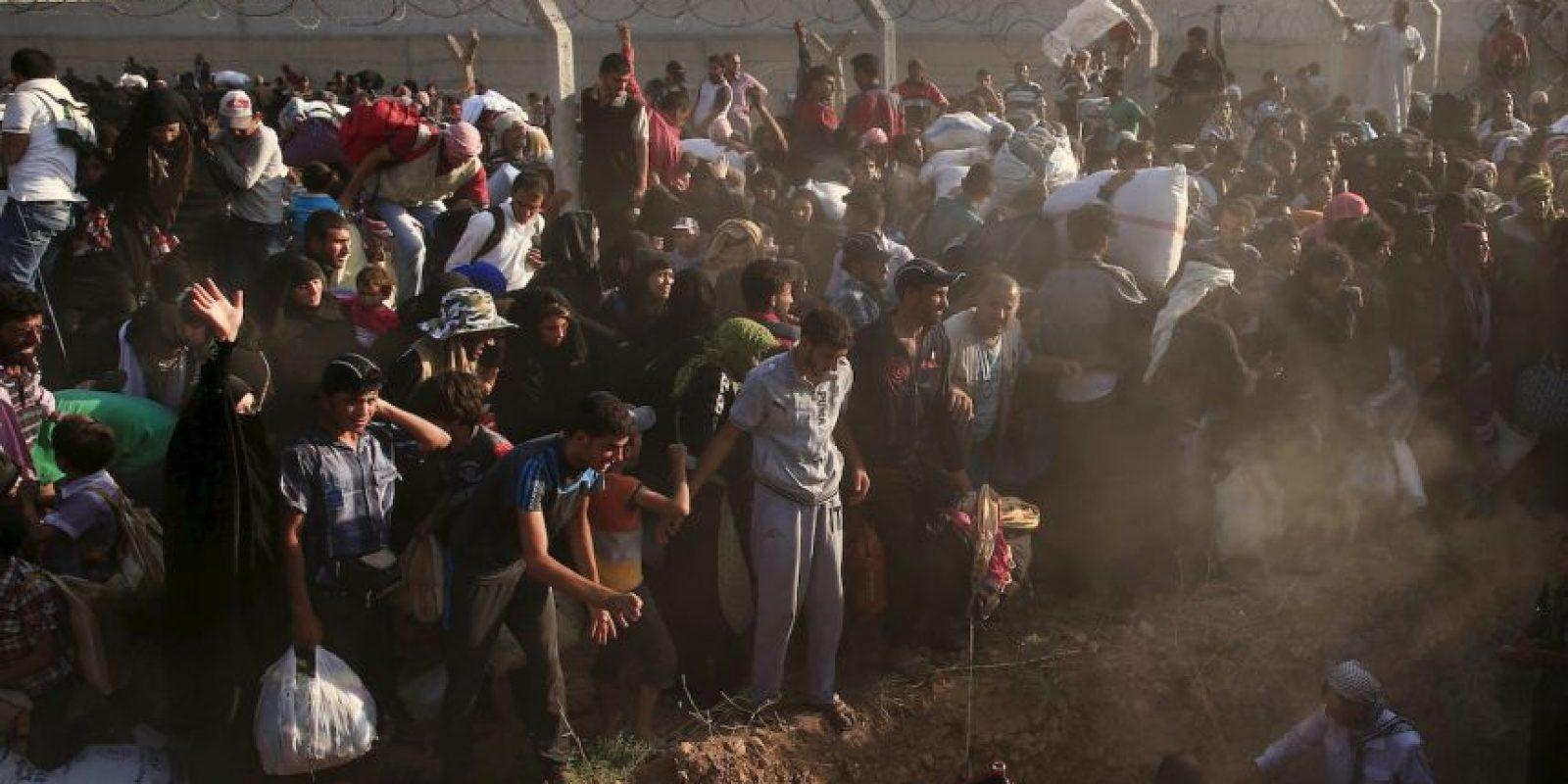 El número de refugiados sirios ya sobrepasa los cuatro millones. Foto:AP
