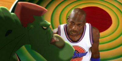 Los protagonistas fueron Michael Jordan y los personajes de los Looney Tunes. Foto:Getty Images
