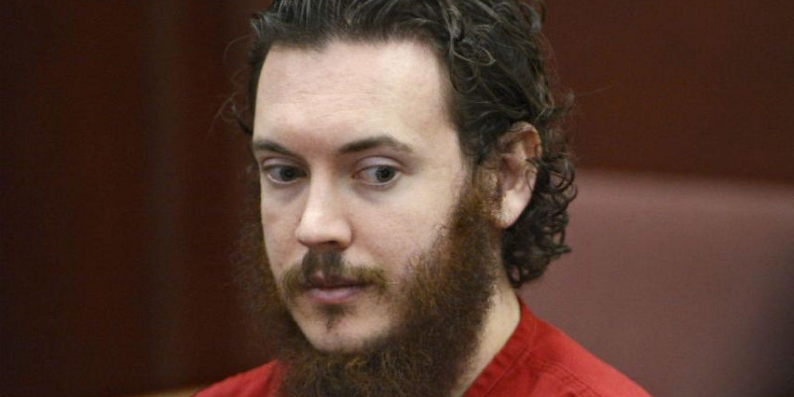 James Holmes atentó en un cine de Colorado contra un gran número de gente en 2012. Foto:AP