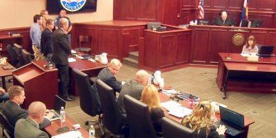 Los miembros del jurado están considerando la pena de muerte como una sentencia. Foto:AP