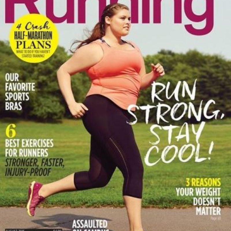 Women´s Running ha sido el primer medio fitness que hace historia al poner a una mujer plus size en su portada. Pero hubo una mujer antes que mostró que el deporte es para todos.