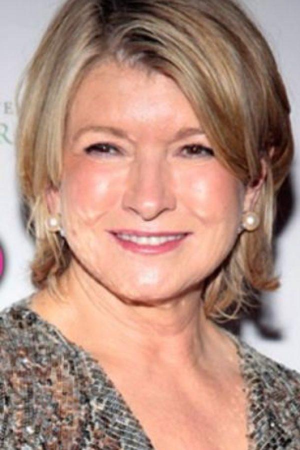 Martha Stewart tiene una doble con voz pausada y también estrella de televisión. Foto:vía Getty Images