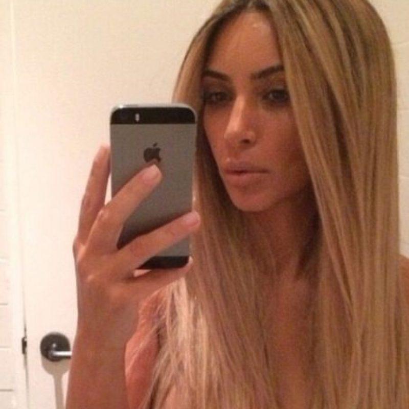 Kim Kardashian tiene su perfecta doble. Foto:vía Instagram/Kim Kardashian